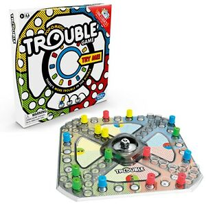 Trouble Board Game for Kids Ages 5 & Up, 2-4 Players A5064 TOY NEW FREE SHIPPING