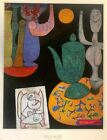 Paul Klee Art Reproduction Poster 22.5 x 28