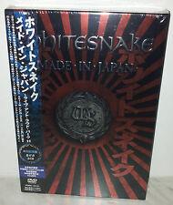 2 CD + DVD WHITESNAKE MADE IN - JAPAN - JAPAN - VQBD-10131