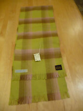 Vintage Women's 100% Merino Wool Scarf 48X9.5 In. West Germany New With Tag