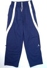 Nike Jordan Jumpman Dark Blue & White Basketball Track Pants Men's Nwt