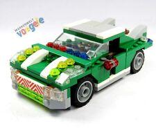 LEGO CITY CREATOR Auto Coche De Carreras Verde 6743 Pieza Repuesto Vehículo