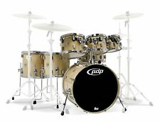 PDP By DW 5-Piece Concept Maple Shell Pack with Chrome Hardware Blue Sparkle