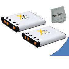 2 High Capacity EN-EL10 ENEL10 Battery for Nikon Coolpix S80 Digital Camera