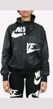 Womens Nike Sportswear 2018 Windrunner Jacket AJ2974-010 Black/White New Sz M