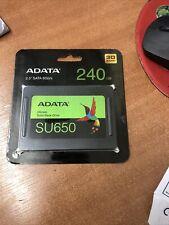 ADATA ASU650SS240GTR Ultimate Su650 240gb 2.5 SATA 6GB/s