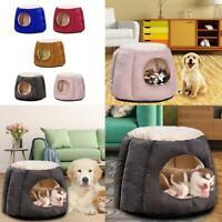 Pumpkin Soft Pet Dog Cat Bed House Kennel Doggy Puppy Warm Cushion Pad Mat Nest