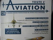 TOUTE L'AVIATION 124 FORMULES 1 RENO / SUKHOI SU7 / GUERRE GOLFE 4 / LOCKHEED