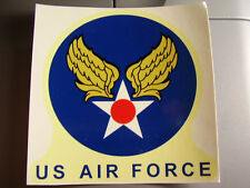 P flight helmet usaf korea jet air force pilot flying decal