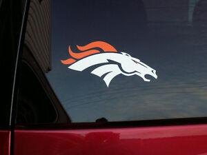 Large Denver Broncos Decal Sticker