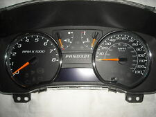 NEW 08 09 10 11 12 130mph XTREME GAUGE FACE SPEEDOMETER AUTOMATIC CLUSTER