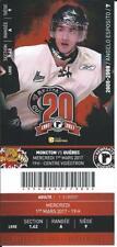 QMJHL Ticket - Quebec Remparts 20th Anniversary ANGELO ESPOSITO #7
