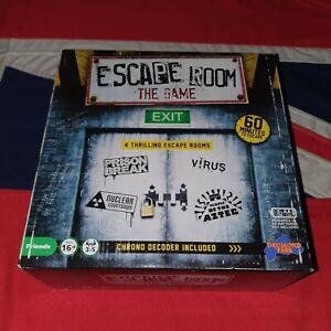 Escape Room: The Game - Chrono Decoder Timer - Prison Break Virus Nuclear Aztec