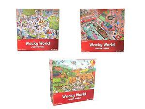 1000 Piece Jigsaw Puzzle 68cm x 48cm Wacky World Different Design Farm Game NEW