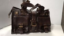 Authentic MULBERRY Roxanne Chocolate BROWN Darwin Leather HANDBAG