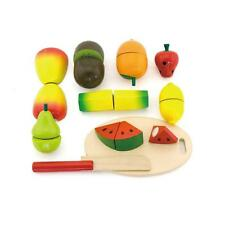Viga Wooden Cutting Fruit Play Food Set #56290