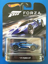2016 Hot Wheels Retro Entertainment FORZA MOTORSPORT '17 FORD GT FORMULA RACER!