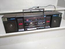 Panasonic RX-C38 XBS cassette boombox