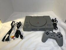 Sony Playstation One PS1 Video Game Console SCPH-5501 Controller And All Cords