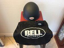 Bell Drifter Combat Black Half Helmet Cap Motorcycle Helmet w/ Bag Size (M)