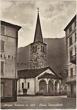 ALAGNA VALSESIA - CHIESA PARROCCHIALE (VERCELLI) 1958