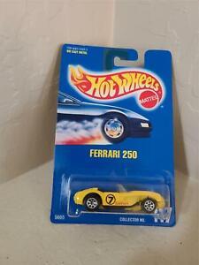 Hot Wheels Mattel Ferrari 250 Collector #117 Yellow PH7