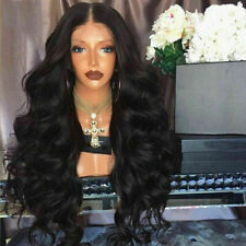 Curly Brazilian Virgin Remy Human Hair Lace Front Wig Full Wigs with Baby Hair