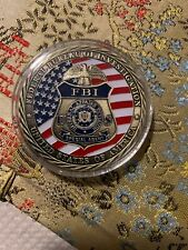 FBI Federal Bureau of Investigation Special Agent Challenge Coin