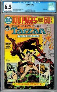 Tarzan #233 CGC 6.5 (Oct-Nov 1974, DC) Joe Kubert cover and story 100 Page Issue