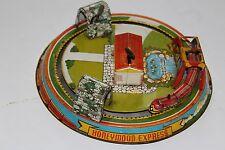 VERY NICE Vintage 1940'S  MARX WIND UP  HONEYMOON EXPRESS TRAIN #2