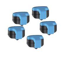 5 CYAN Ink Cartridge For HP 02 PHOTOSMART C5180 C6150 C6180 C6240