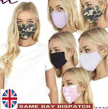 Adult Ladies Face Mask Mouth Protection Cover Mens Washable Reusable Mask Unisex