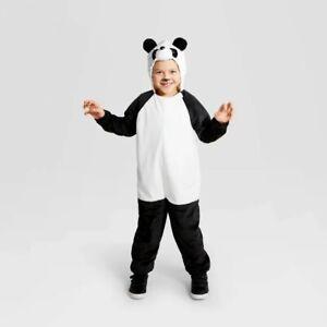 Hyde & Eek Halloween Kids Girls Plush Panda Costume, Large 10-12