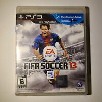 FIFA Soccer 13 Sony Playstation 3 2012 E-Everyone Complete Tested/Working