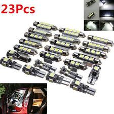 23Pcs LED Luz de Auto T10 Interior Cúpula Bombilla Lámpara Interior de matrícula de tronco Kiji