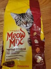 Meow Mix Hairball Control Dry Cat Food, 6.3 Lb