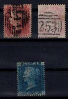 Q139751/ GREAT BRITAIN – SG # 41 - 47 - 66 USED – CV 280 $