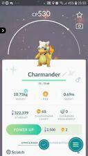 Shiny Charmander ( Cubone Costume ) Trading Pokemon GO