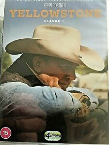 Yellowstone - Complete Season 1 (4-Disc DVD 2020) Kevin Costner