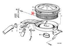 Genuine BMW 02 E12 E21 E28 E30 Engine Air Filter Insert OEM 13711265624