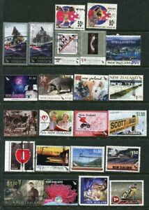 NEW ZEALAND....   Collection of 23 diff used stamps mostly face $1.50