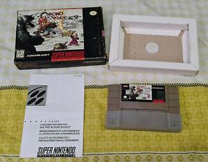 Nintendo Chrono Trigger Game (1995) Super Nintendo - Please Read Description