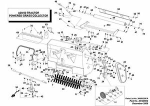 Genuine Westwood Countax ADV SCRAPER WIRE (rear roller)106cm LONG 528004301 862