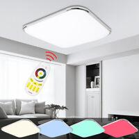36W RGB LED Deckenleuchte Ultraslim Deckenlampe Wohnzimmer Wandlampe Dimmbar
