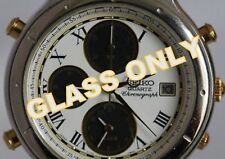 ORIGINAL SEIKO GLASS CRYSTAL FOR Age Of Discovery 7T32-7B20 AND 7T32-6B6A