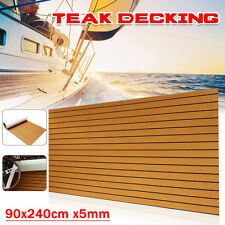 "35""X94"" EVA Foam Teak Sheet Marine Flooring Yacht Boat Decking Self-Adhesive"