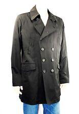 $525 TUMI sz XXL Black Parka Pea Coat Lining Jacket Trench Waterproof Men Gift