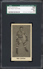 "1933 V129 #23 ""Red"" Dutton (HOF, New York Americans) SGC 92+ NM-MT+"