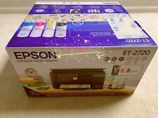 Epson Ecotank Et-2720 Wireless All-In-One Supertank Color Printer Black w Inks