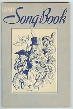 Army Song Book, 1941